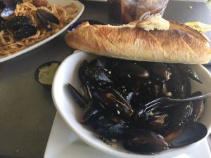 Lunch at Rusty Bellies in Tarpon Springs, FL