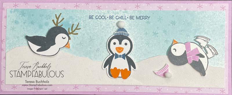 Playful Penguins